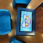 table tactile restaurant enfant