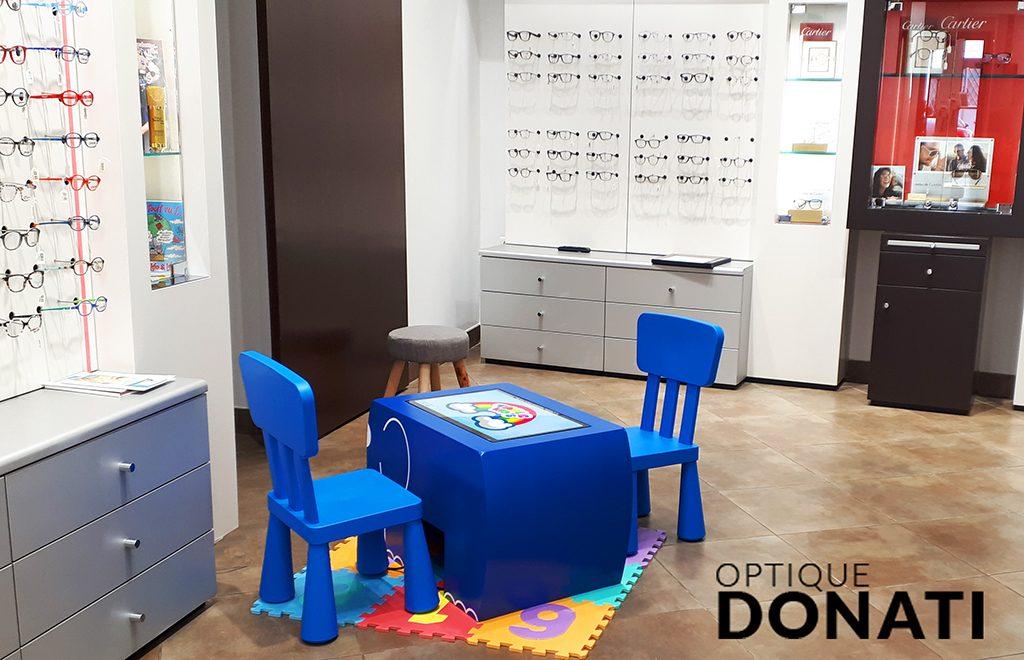 Table tactile enfant
