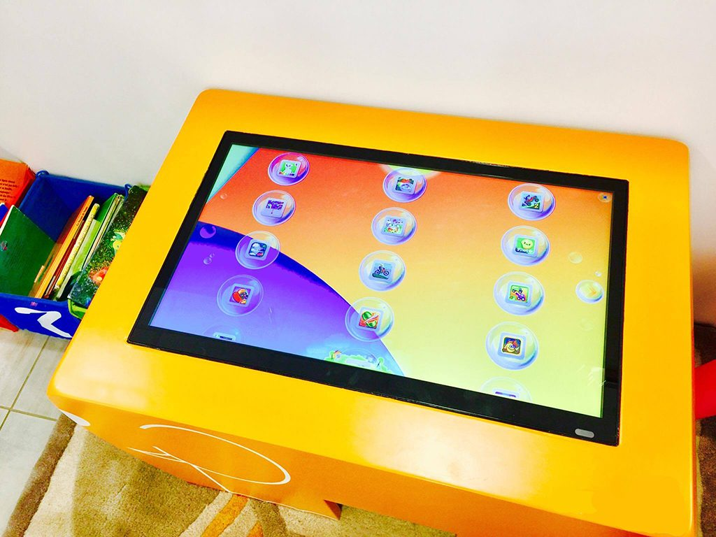 touch screen table for kids
