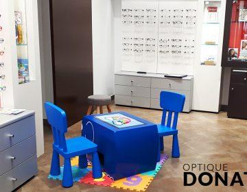 Optique Donati table tactile table kid's