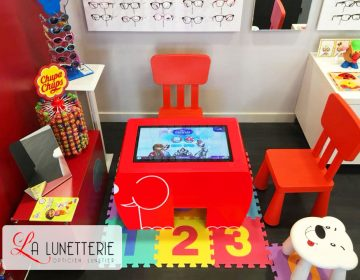Table tactile enfants table kid's opticien la lunetterie lourdes