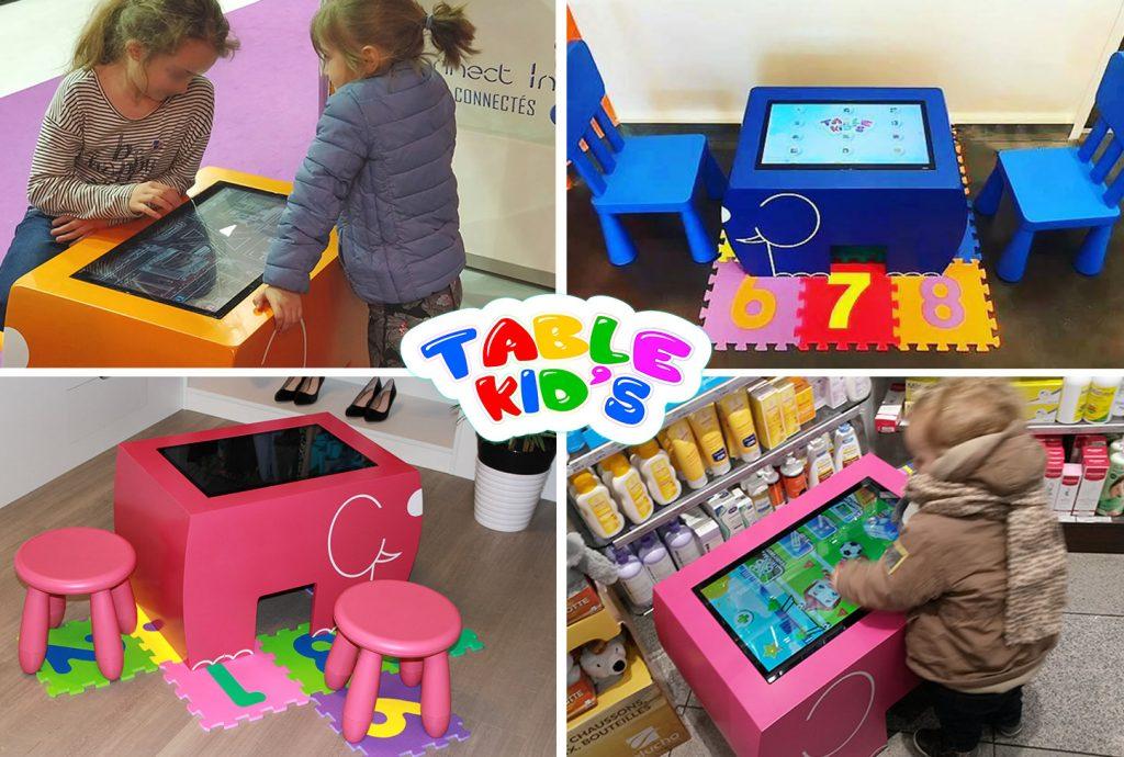 Table tactile enfant espace enfant fabricant