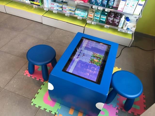 Table tactile enfants table kid's pharmacie discry belgique