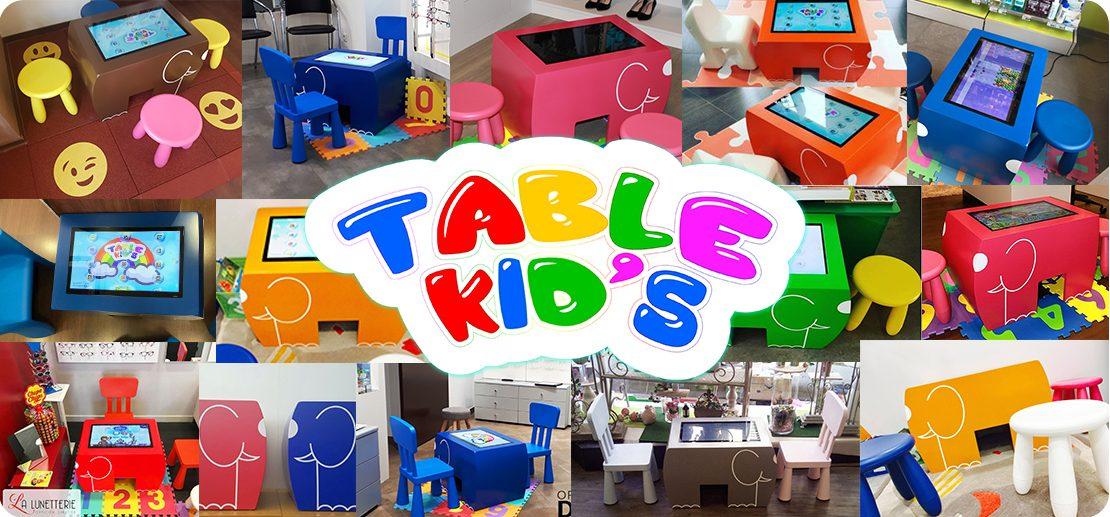 table kid's kid's corner