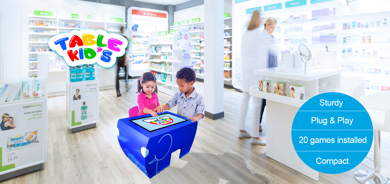 table kid's drugstore kid's corner
