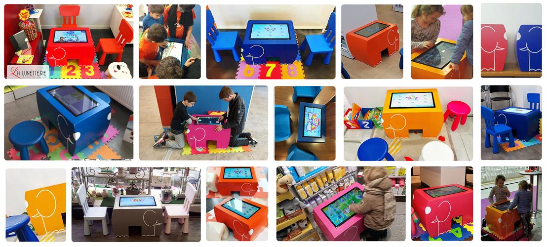 kid's corner table kid's